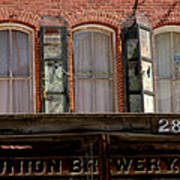 Union Brewery Virginia City Nv Poster