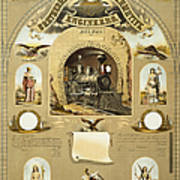 Union Certificate, 1877 Poster