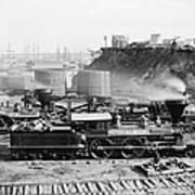Union Locomotive, C1864 Poster