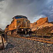 Union Pacific 6807 Poster