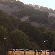Union Pacific Locomotive Trains . 7d10553 Poster