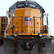 Union Pacific Locomotive Trains . 7d10589 Poster