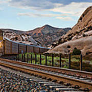Union Pacific Tracks Poster