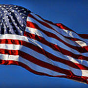 United States Of America - Usa Flag Poster