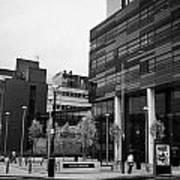 university of strathclyde buildings in Glasgow Scotland UK Poster