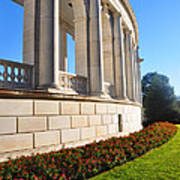 Upclose Of Arlington Memorial Amphitheater Poster