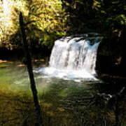Upper Butte Creek Falls 2 Poster