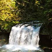 Upper Butte Creek Falls 3 Poster
