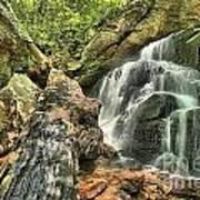 Upper Cascade Hidden Falls Poster