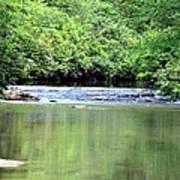 Upper Creek Reflections Poster