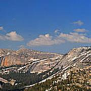 Upper Yosemite Panorama Poster