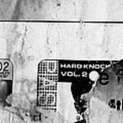 Chch's Hard Knock Poster