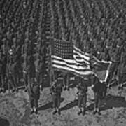 U.s. Army 41st Engineers On Parade Poster by Everett
