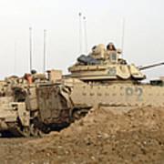 U.s. Army M2 Bradley Infantry Fighting Poster