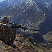 U.s. Army Sniper Provides Security Poster