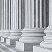 Us Supreme Court Building IIi Poster