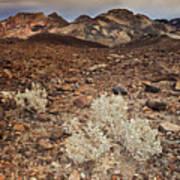 Usa, California, Death Valley, Barren Landscape Poster