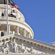 Usa, California, Sacramento, California State Capitol Building Poster