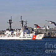 Uscgc Boutwell Poster