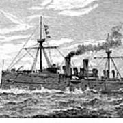 Uss Baltimore, 1890 Poster