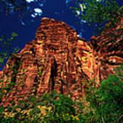 Utah - Zion National Park - Angels Landing Poster