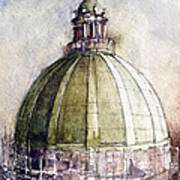 Utah Capitol Reconstruction Poster