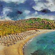 Vai Beach II Poster