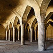 Vakil Mosque . Shiraz . Iran Poster