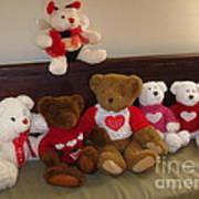 Valentine Bears  Poster