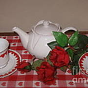 Valentine Tea For Two  Poster