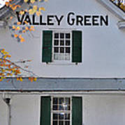 Valley Green Inn - Side View Poster