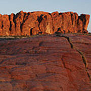 Valley Of Fire Rockscape Poster