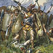 Vandal Invasion Of Rome Poster