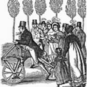 Velocipede, 1827 Poster