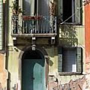 Venetian Doorway Poster
