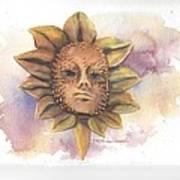 Venetian Mask IIi Poster