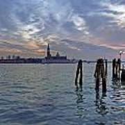 Venice San Giorgio Maggiore Poster