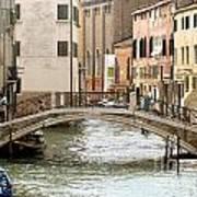 Venice Venezia Venetian Bridge Poster
