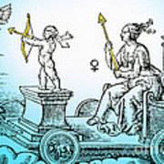 Venus, Roman Goddess Of Love Poster by Photo Researchers