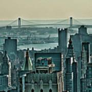 Verrazano From Manhattan Poster