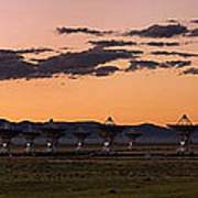 Very Large Array Panorama Poster