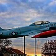 Vfw F-80 Shooting Star Poster