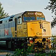Via Rail Engine Poster