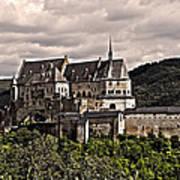 Vianden Castle - Luxembourg Poster by Juergen Weiss