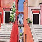 Vico Giardini Poster by Regina Ammerman