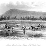 Victoria, Australia, 1856 Poster