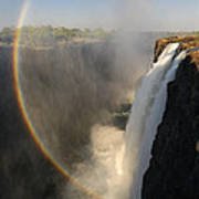 Victoria Falls Poster by Christian Heeb