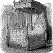 Victorian Bed, 1846 Poster