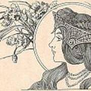 Victorian Lady - 2 Poster