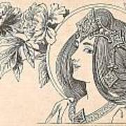 Victorian Lady - 4 Poster